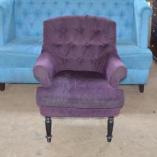 Кресла б/у ткань фиолетовые