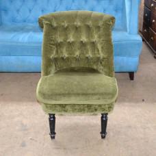 Кресла б/у ткань зеленые