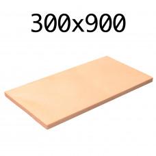 Подовый камень для пицца печи 300х900х20 мм.