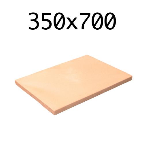 Подовый камень для пицца печи 350х700х20 мм.