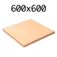 Подовый камень для пицца печи 600х600х20 мм.