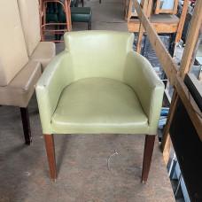 Кресла б/у кожзам зеленые (под перетяжку)