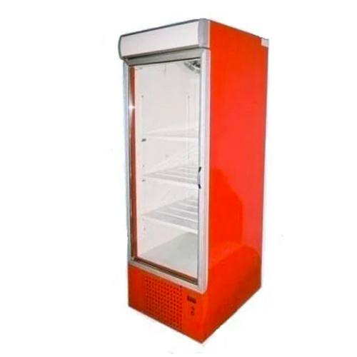 Шкаф холодильный б/у стекло, красный
