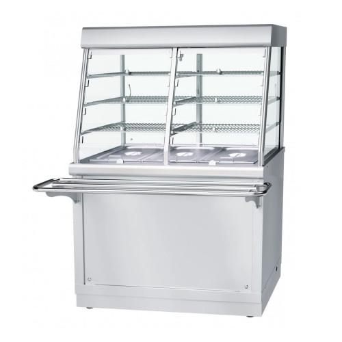 Холодильный мармит-витрина б/у Rada КУБ