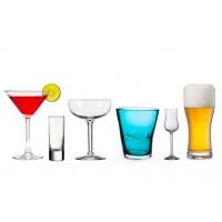 Бокалы и стаканы б/у