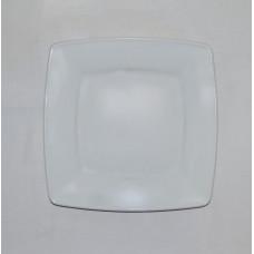 Тарелка б/у фарфоровая квадратная №2
