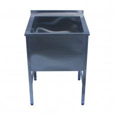 Ванна моечная Restoraninvest одинарная сварная XXL 500x500x850 ri44002