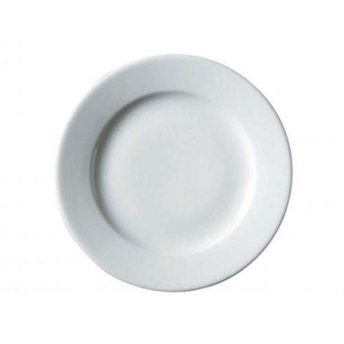 Тарелка б/у из фарфора 19 см